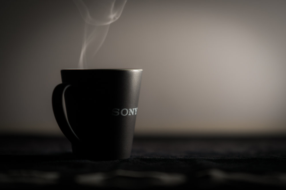 Here's that mug I was talking about... Thanks, Sony!