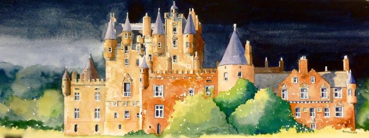 glamis castle - Castles Pictures To Colour