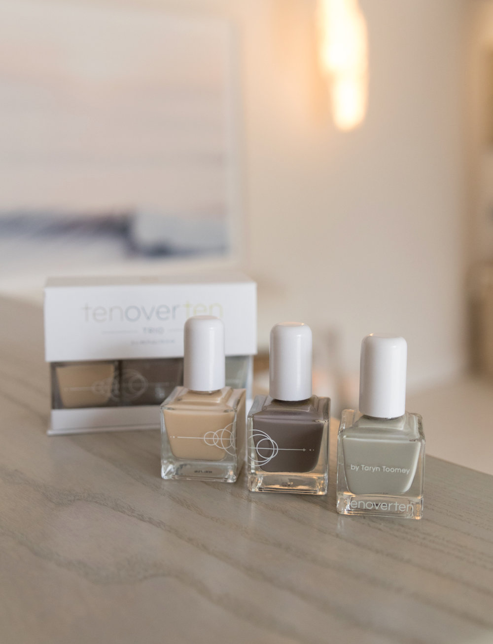 tenoverten x TT Nail Trio