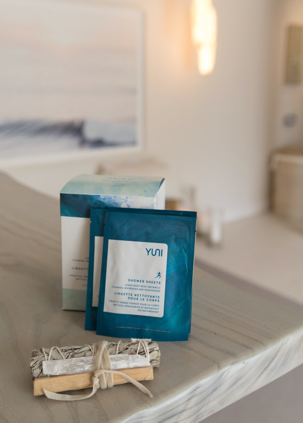 Yuni Shower Sheets