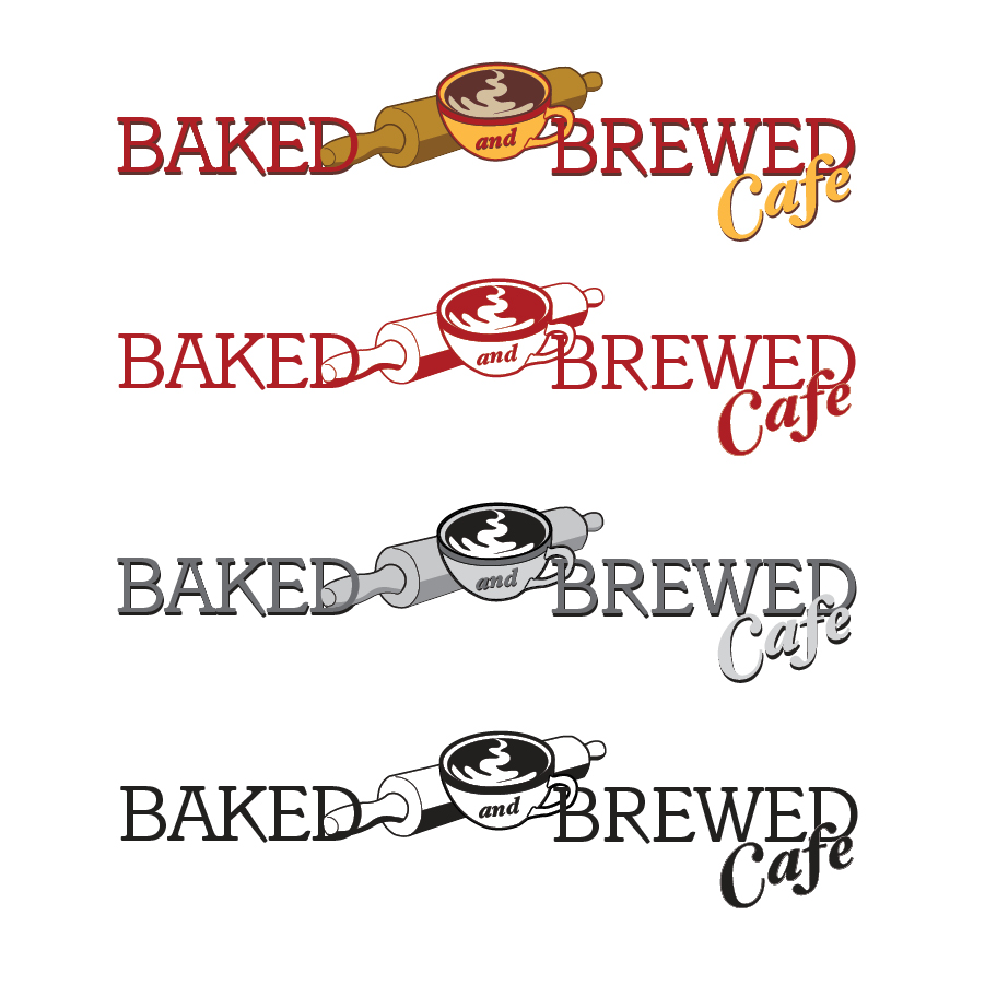 Baked & Brewed Cafe Logo