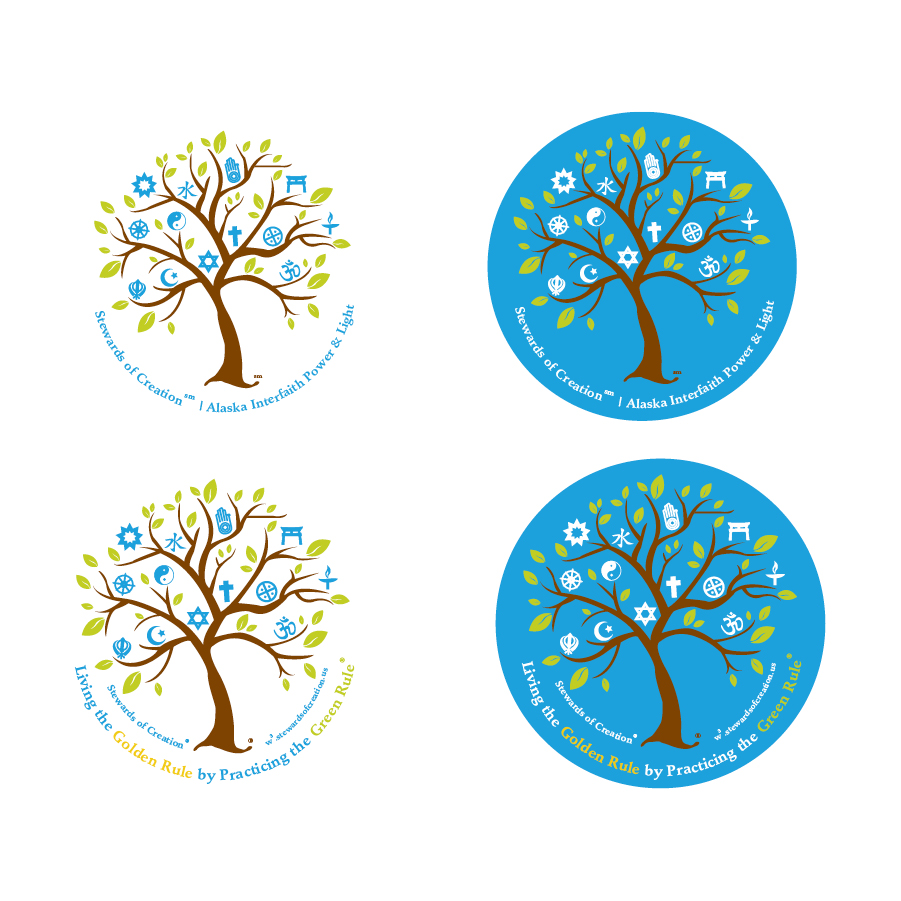 Stewards of Creation | Alaska Interfaith Power & Light Logo