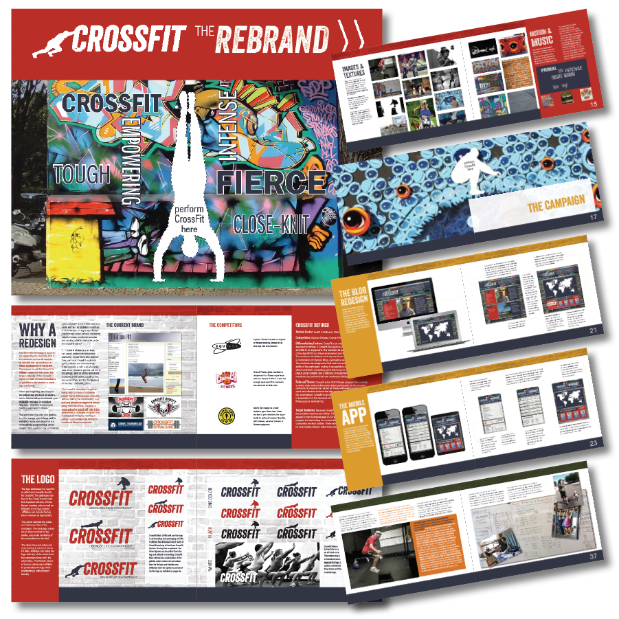 Final Style Guide for the CrossFit Rebrand Campaign