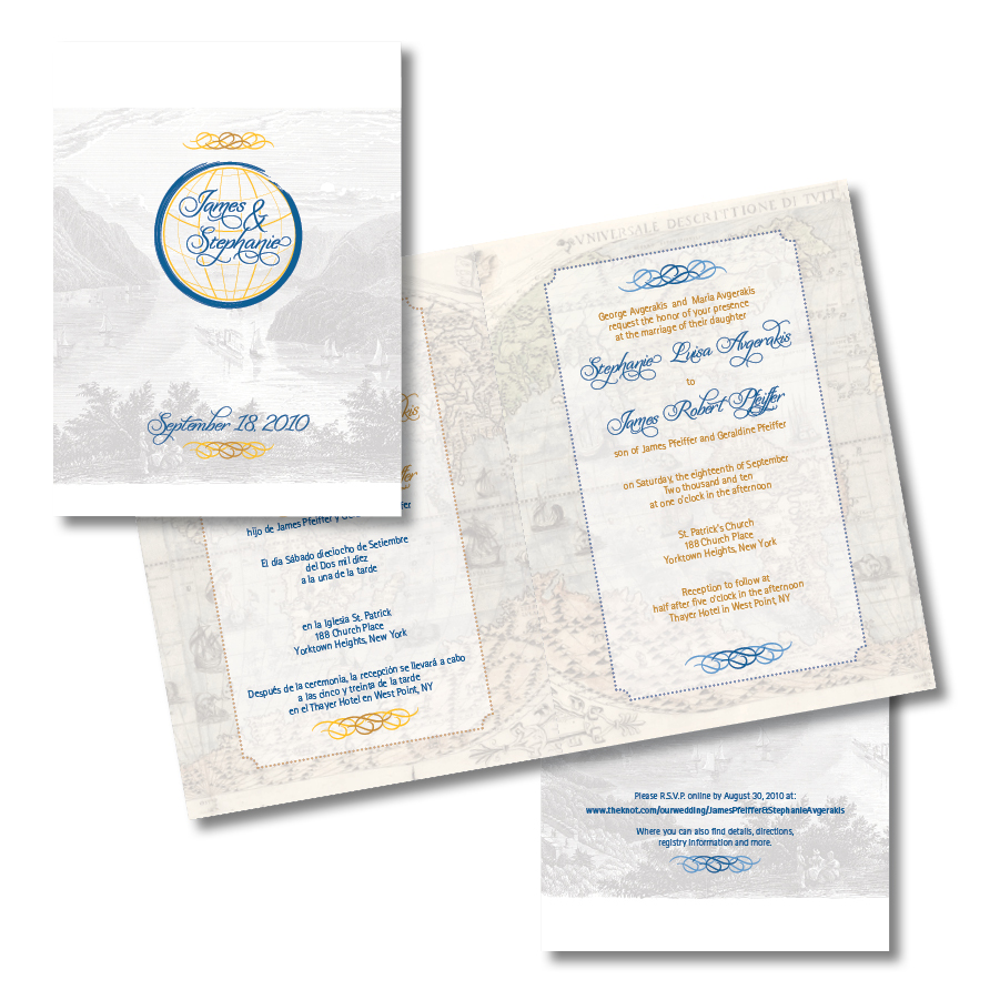 Pfeiffer Wedding Invitation