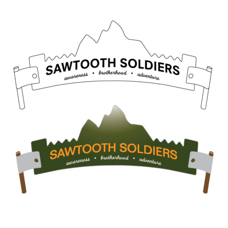 Sawtooth Soldiers Logo