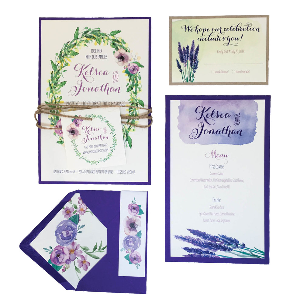 Wreath and Lavender Suite