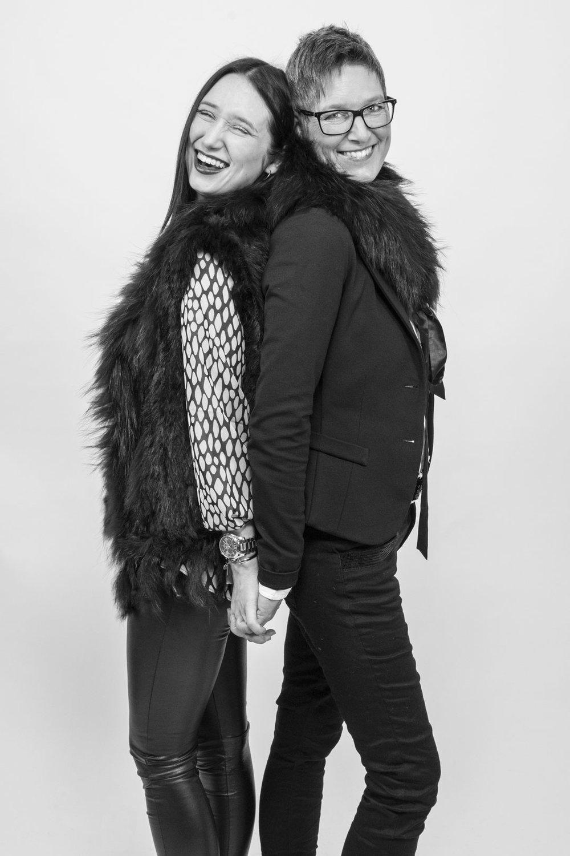 Lisa & Bettina - Tochter und Mutter