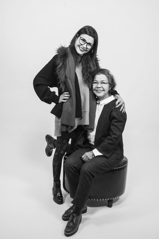Sandra & Ligia - Tochter und Mutter