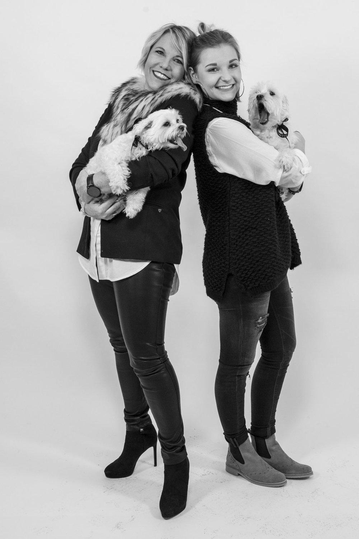 Hanna & Tina - Tochter und Mutter