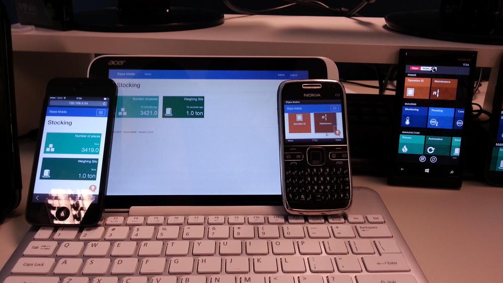 Destaque para o Nokia E72 com Symbian OS