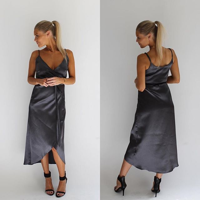 SATIN NEWNESS ⭐️ #newarrivals #wrapdress