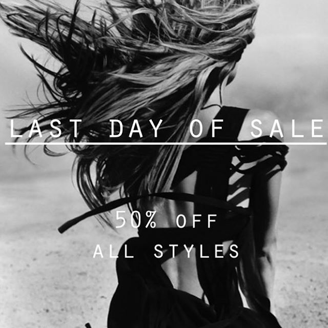 #SALE #LASTDAY #50%OFF www.scarlettblacklondon.com
