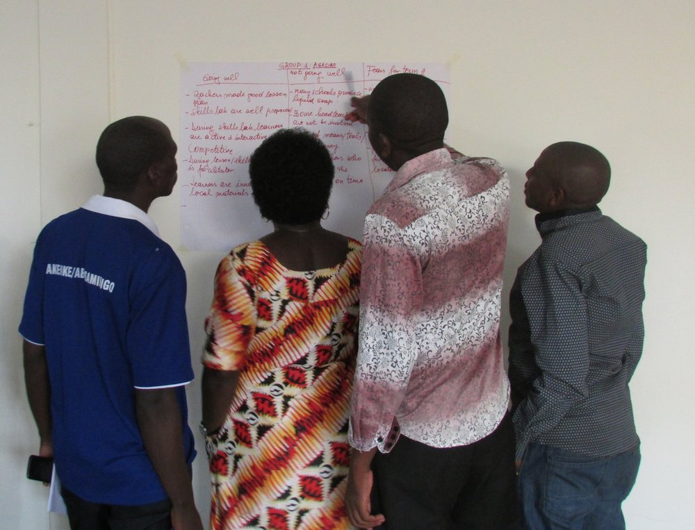 2017 Term 2 Teacher Training in Rwanda