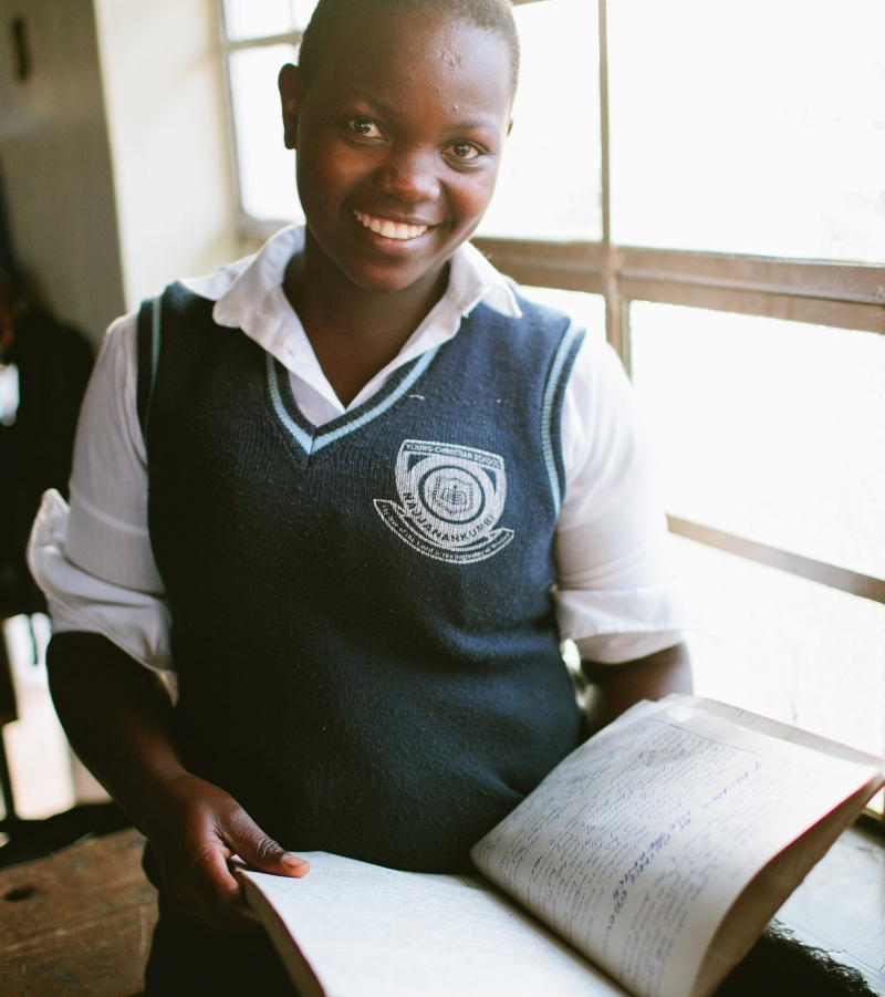 Educate! teaches students how to access capital, how to save, and how to plan for the future. Savings skills offer a risk-free method of capital accumulation and enable female entrepreneurs to overcome the asset gap. -