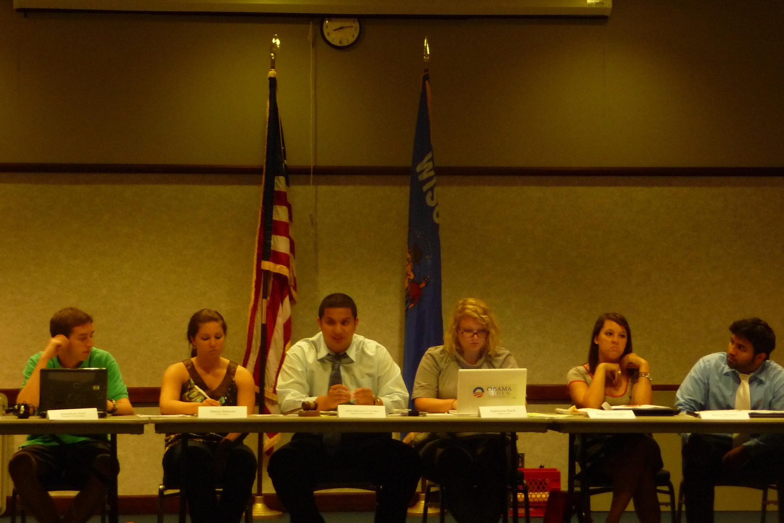 The MUSG Executive Board