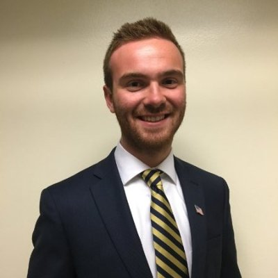 Legislative Vice President Blake Hartman
