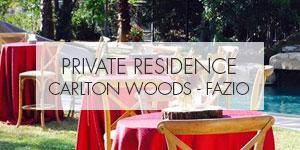 PRIVATE RESIDENCE, CARLTON WOODS-FAZIO