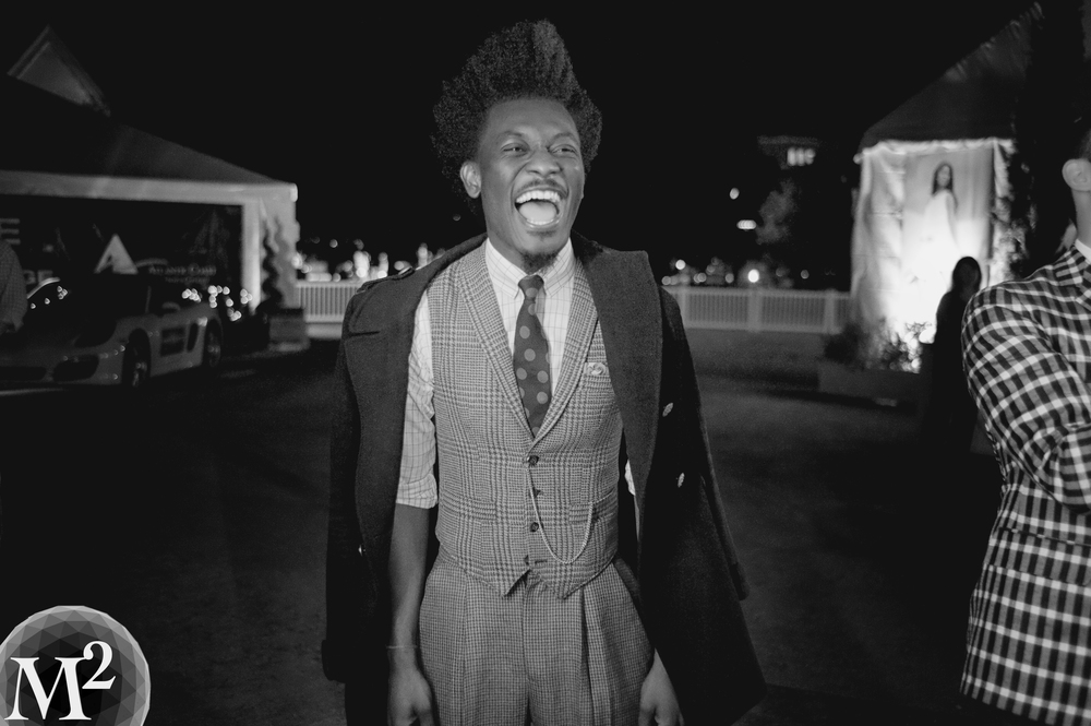 AfriyiePoku 2013 Emerging Artist at Charleston Fashion Week. One B/A MF!