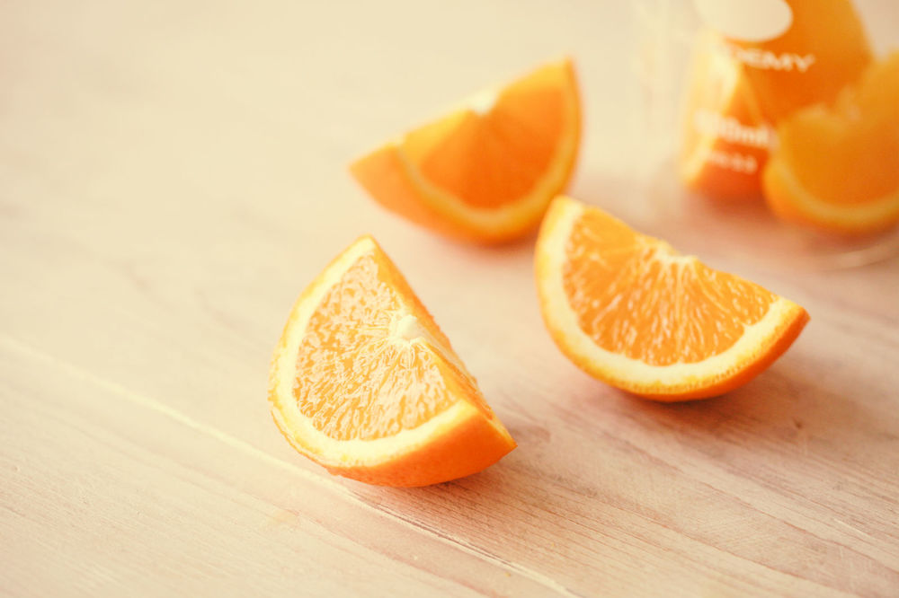 Skin-Brightening Orange Peel Mask