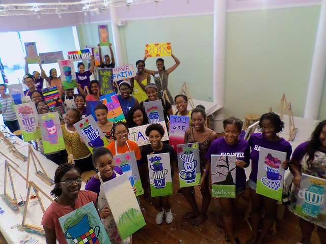 Welcome Wellesley College! Read more to see more pix!