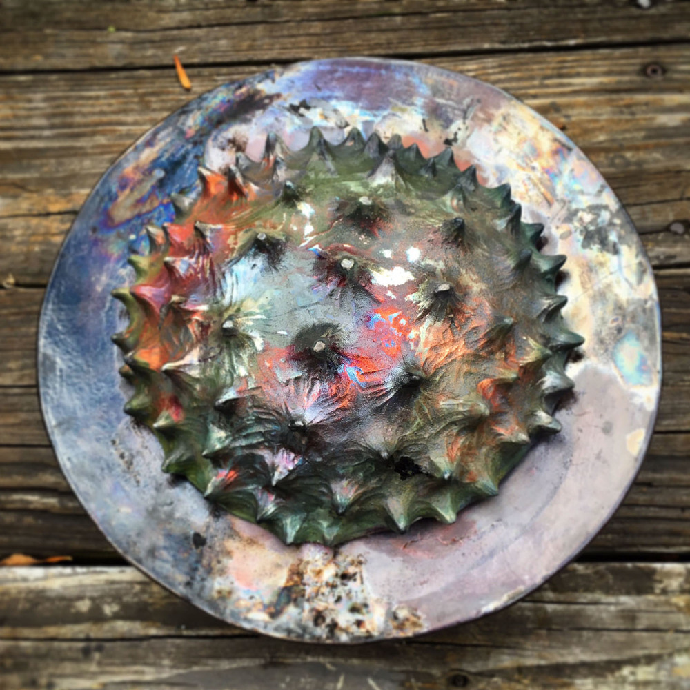 Two Spiked Plates