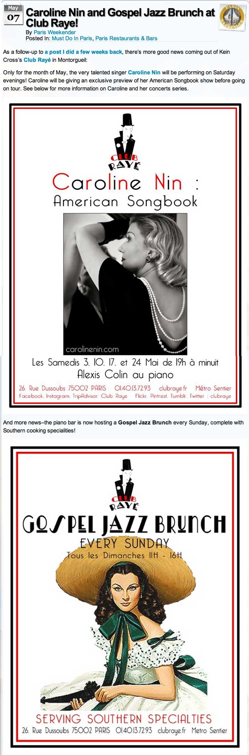 Parisweekender May 2014