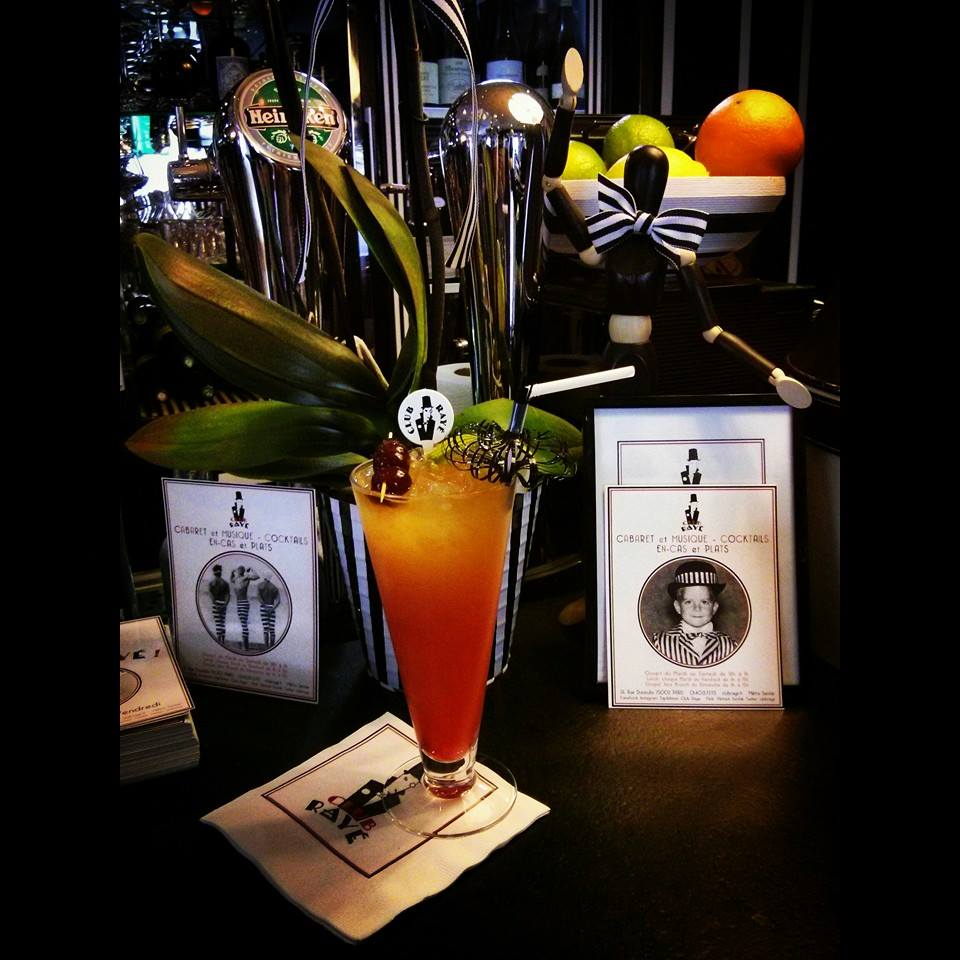 "Club RaYé barman Marco says ""pourquoi pas""? Pass by today and have a delicious and refreshing Mai Tai"
