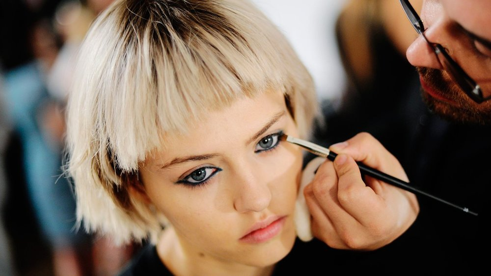 Backstage beauty at Marc Jacobs SS14