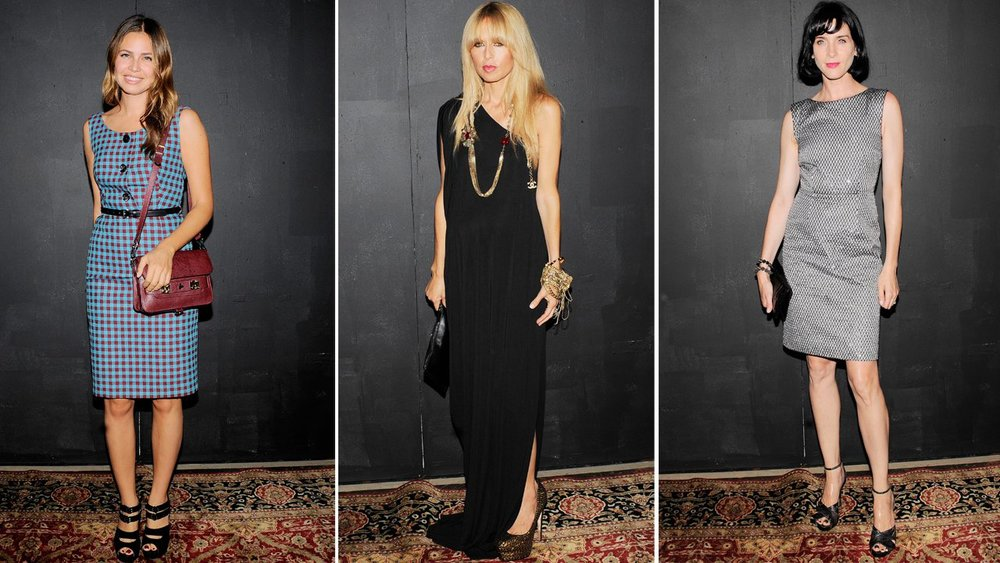 Dasha Zhukova, Rachel Zoe, and Michele Hicks