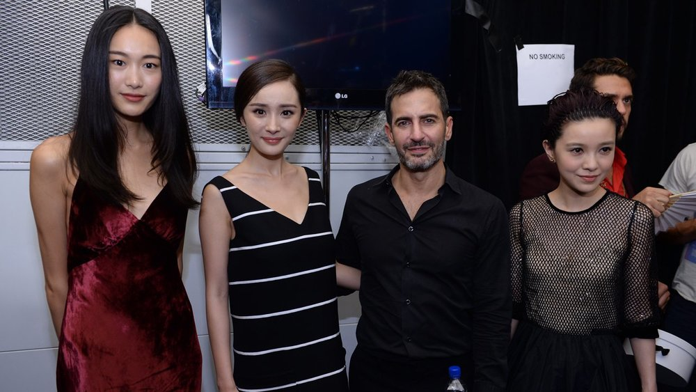 Qin Shupei, Mini Yang, Marc Jacobs, and Amber Kuo