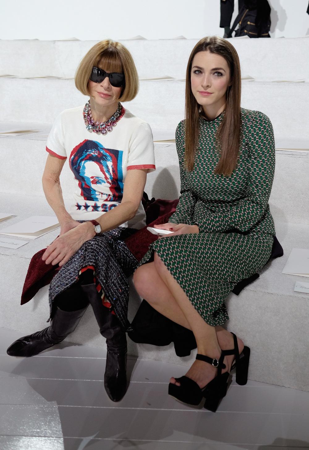 ANNA WINTOUR & BEE SCHAFFER