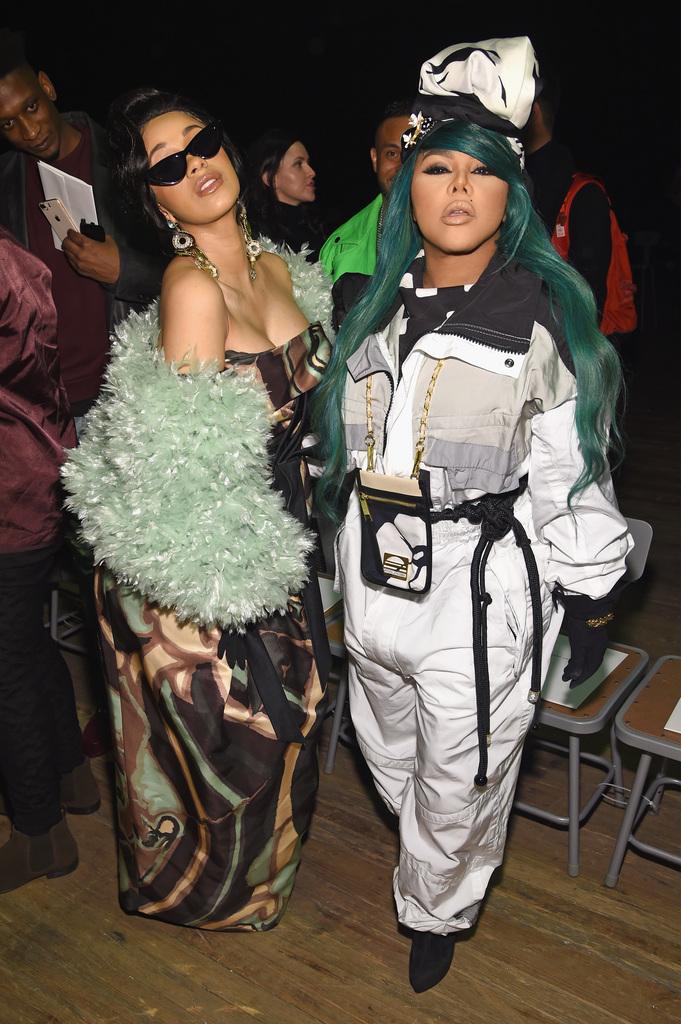 Cardi B and Lil Kim