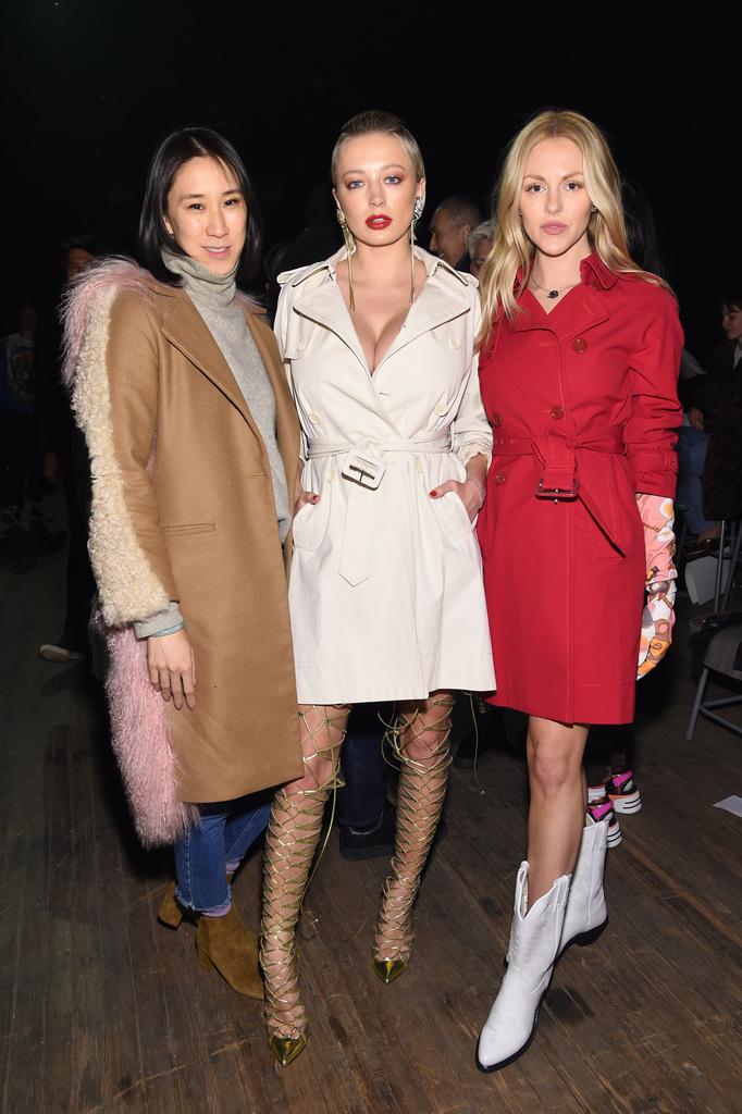 Eva Chen, Caroline Vreeland and Shea Marie