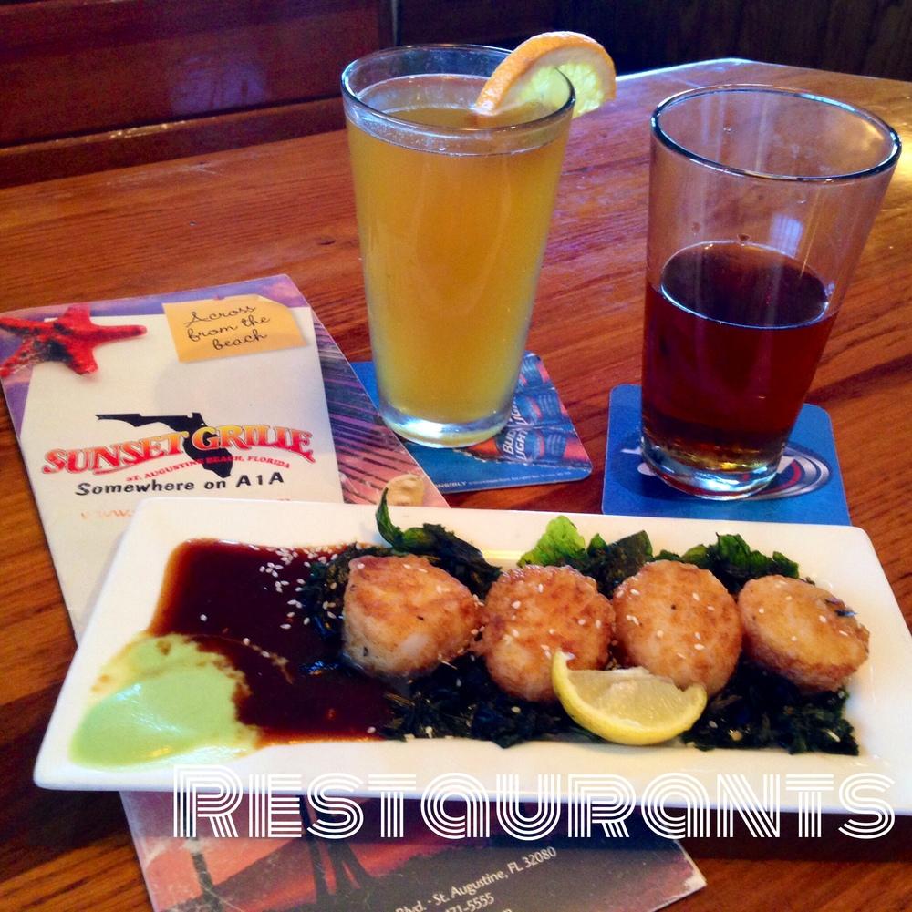 St. Augustine Restaurants