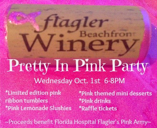 Flagler Beachfront Winery Pretty in Pink Party