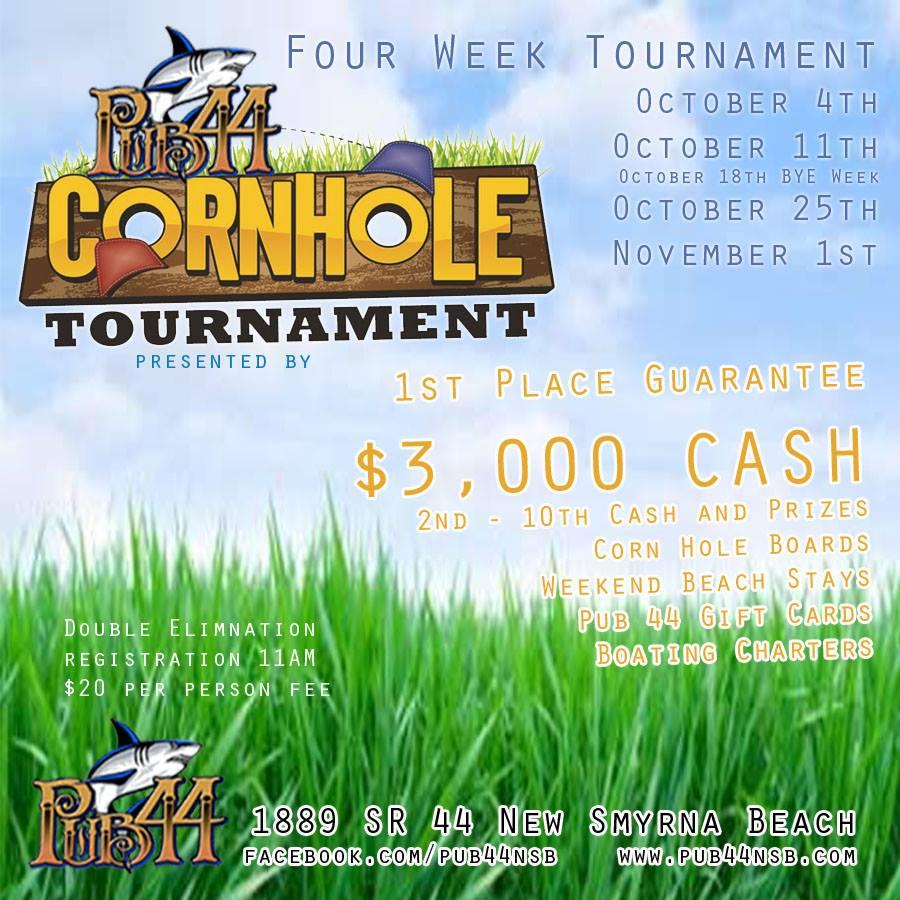 Pub 44 Cornhole Tournament