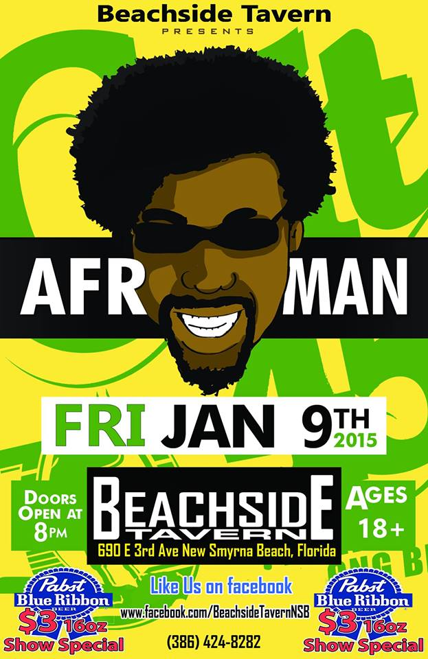 beachside tavern daytona beach afroman