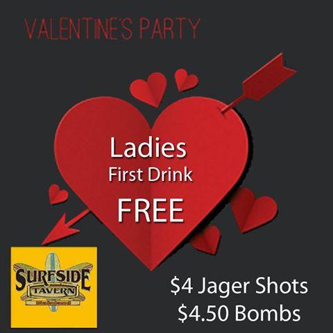 Valentine Party Surfside Tavern