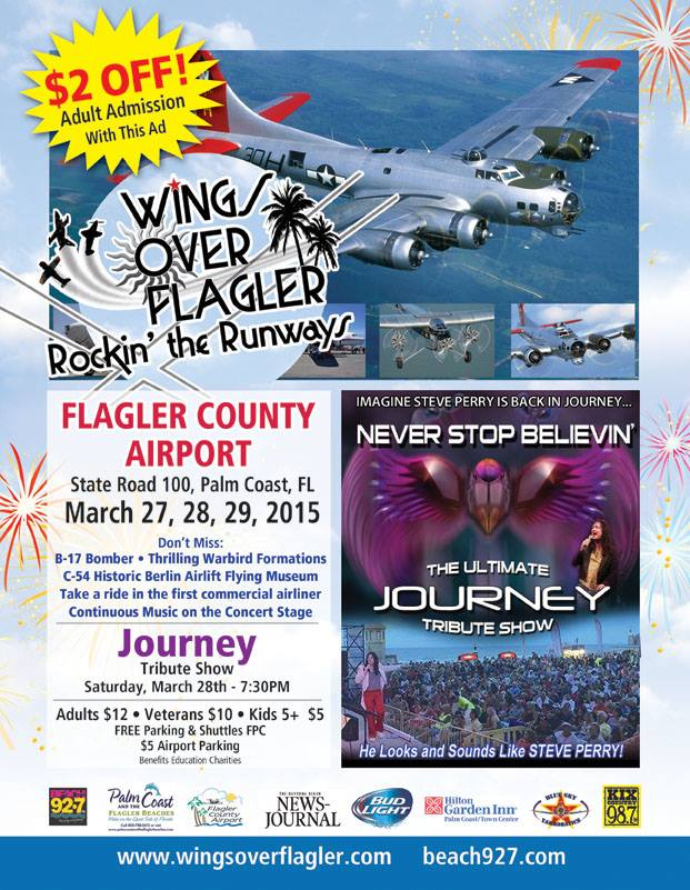 Wings over Flagler Palm Coast Things to do