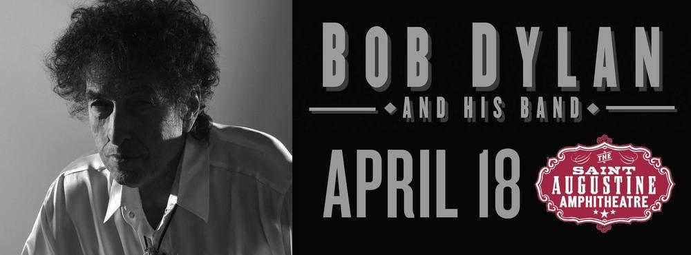 Bob Dylan at St. Augustine Amphitheatre