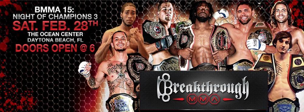 Break Through MMA