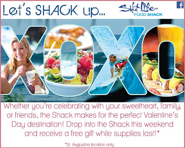 Valentines at Salt Life Seafood Shack