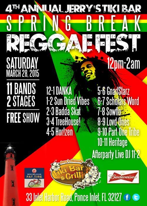 jerry's tiki bar spring break reggaefest