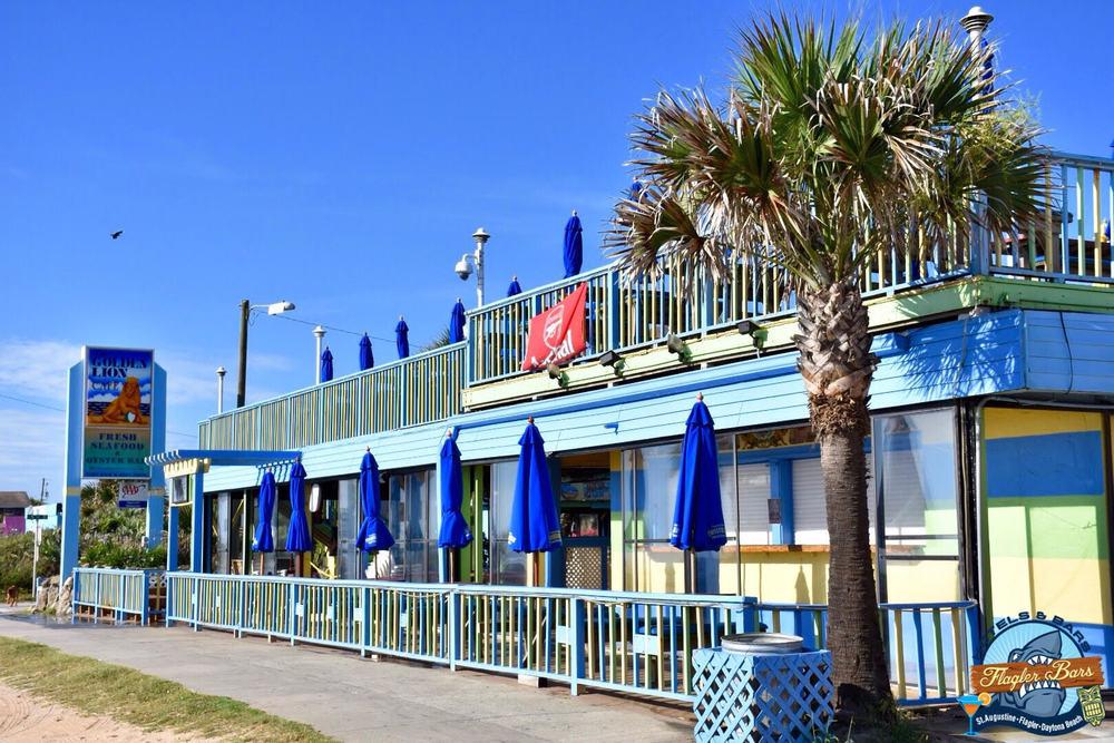 Golden Lion Restaurant Flagler Beach Florida