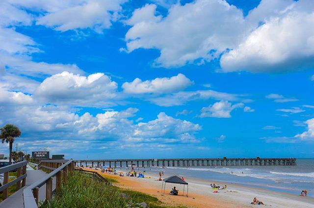 Beautiful day in #FlaglerBeach!  Have a great weekend!  #Flagler #FlaglerLife #FlaglerBars