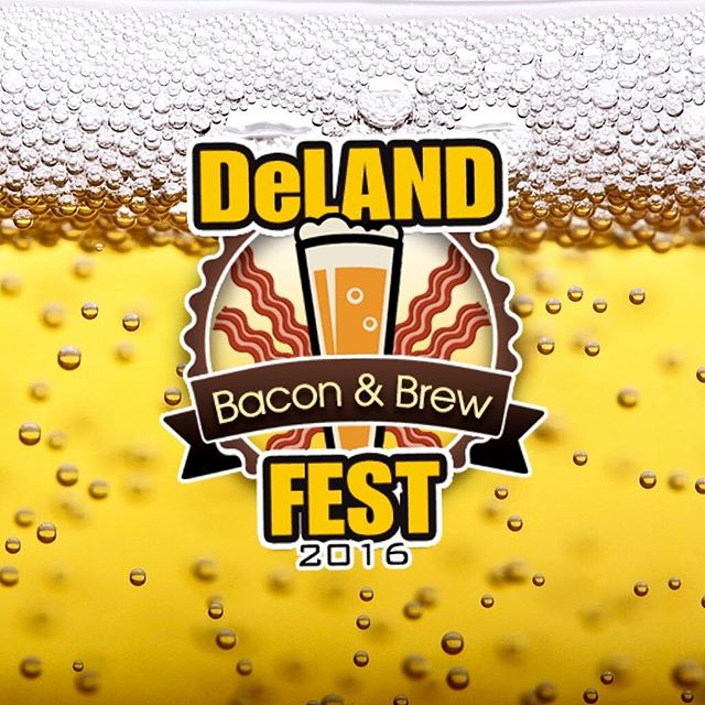 TAG A FRIEND TO WIN:  Win a free VIP Ticket to the Deland Bacon & Brew Fest THIS WEEKEND October 1st!  Winner will be announced tonight at 9pm. #Deland #Stetson #StetsonUniversity NewSmyrnaBeach #DaytonaBeach #PonceInlet #OrmondBeach #Flagler #FlaglerBeach #PalmCoast #StAugustine