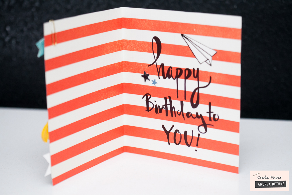 A Cool Birthday Card Crate Paper Andrea Bethke