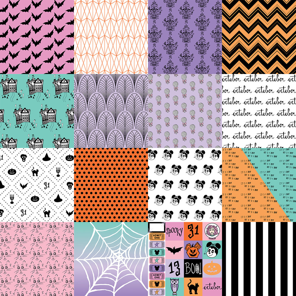 8x8 Patterned Papers