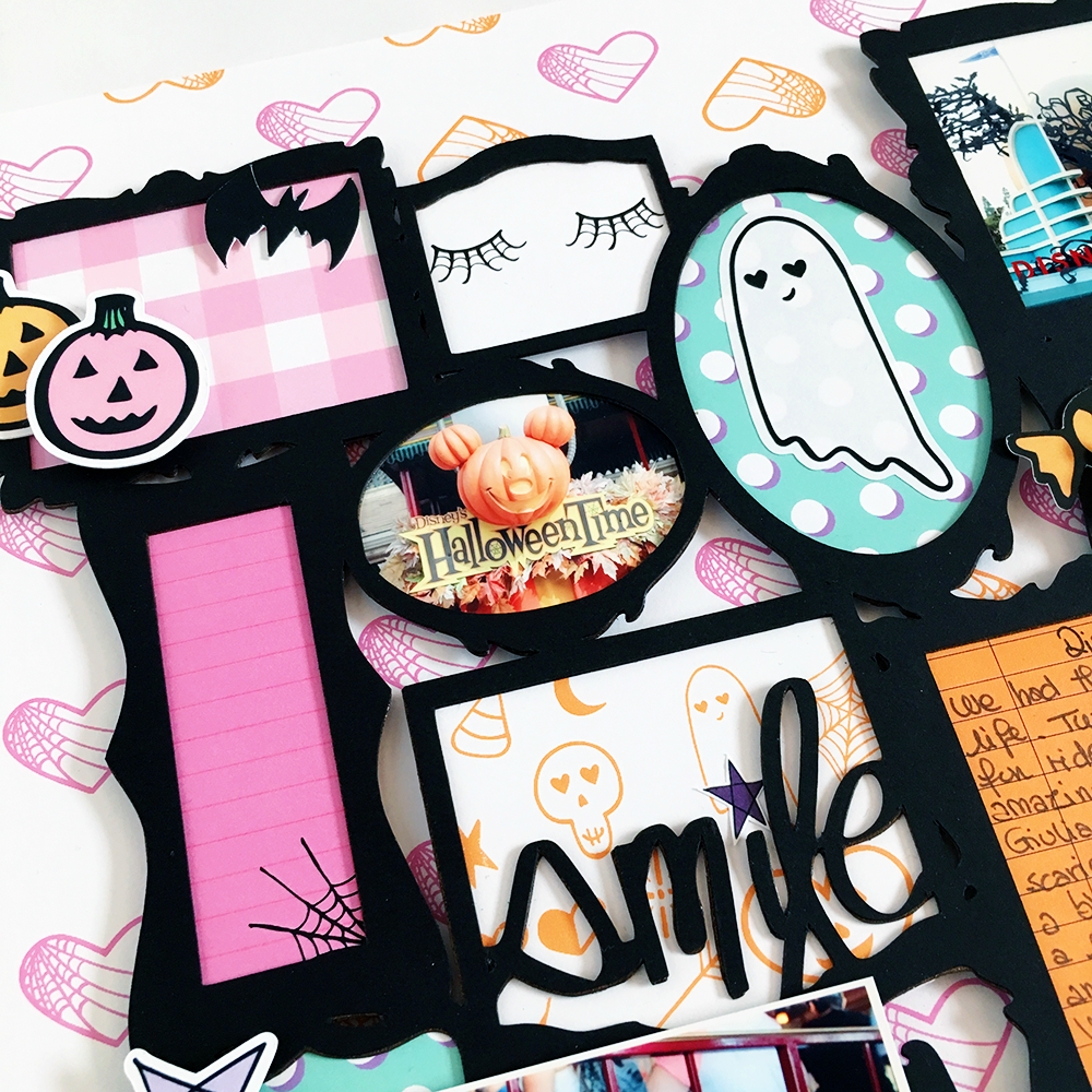 Spooky Framed Layout with Enza — Andrea Bethke