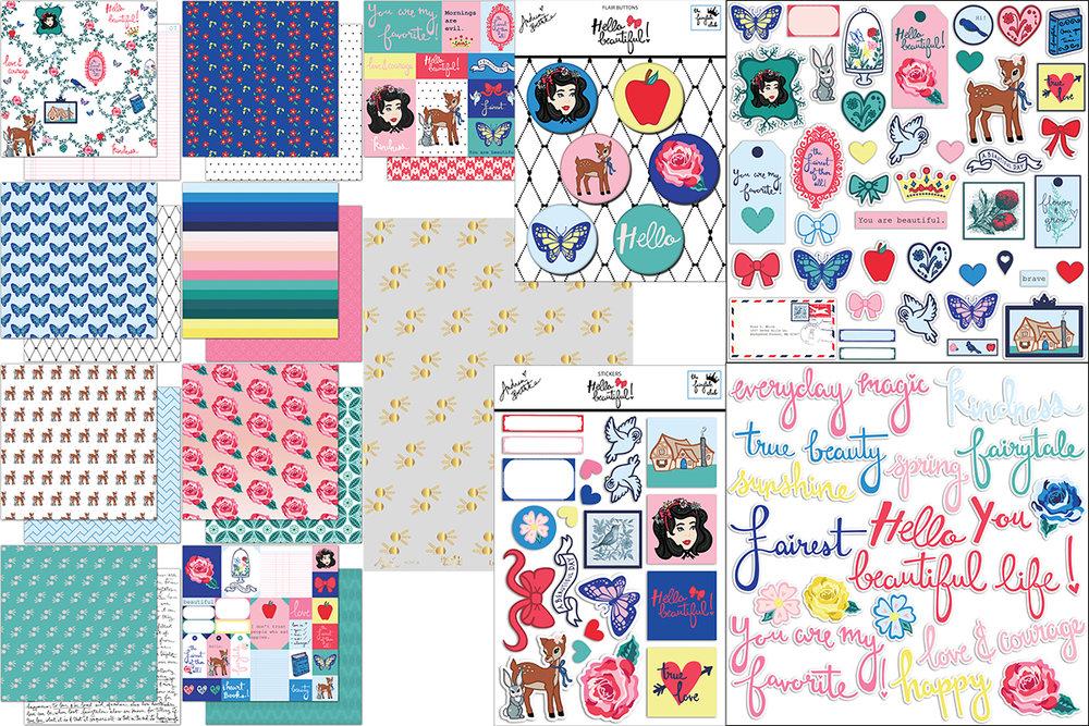 Hello Beautiful - Scrapbook Kit Block.jpg